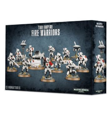 Games Workshop Warhammer 40K Tau Empire Fire Warriors Strike Team or Breacher Team 56-06
